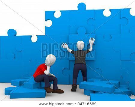 Puzzle de construcción