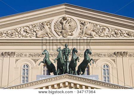 The Quadriga On The Bolshoi