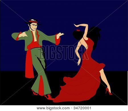 Flaminco Dancers