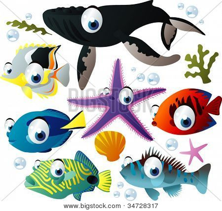 sea-life animals