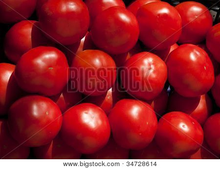 Market Stall Tomatoes