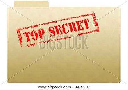 Carpeta de documento secreto