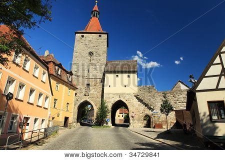 The goal in Nuremberg Aisch Neustadt