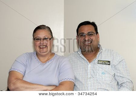 Mayor Of Guanica Puerto Rico With Wife Of Yomo Toro