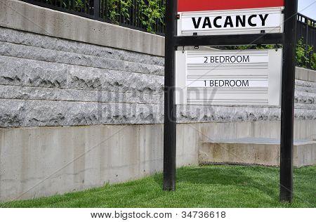 Vacancy Sign