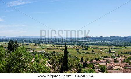 Châteauneuf-du-pape And The Rhône River