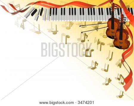 Musical Corner Frame