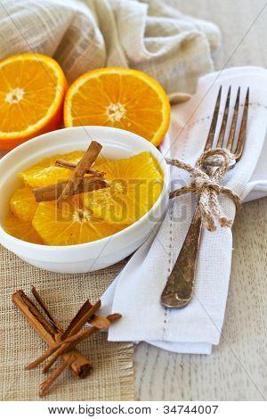 Orange And Cinnamon Breakfast