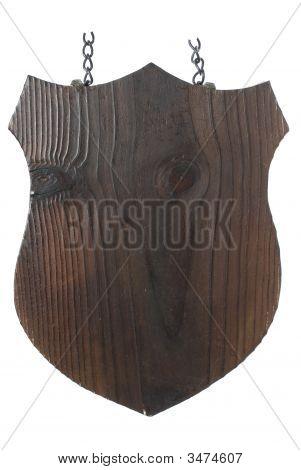 Wood Plate Shield