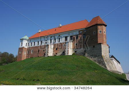The Royal Castle In Sandomierz