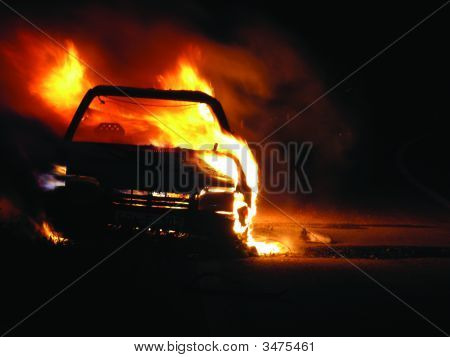 Car Burning, Nightshot