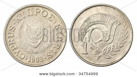 Cyprus 1 Cent Coin of 1993