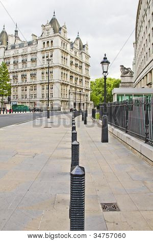 Street View Of The Whitehall Court, London