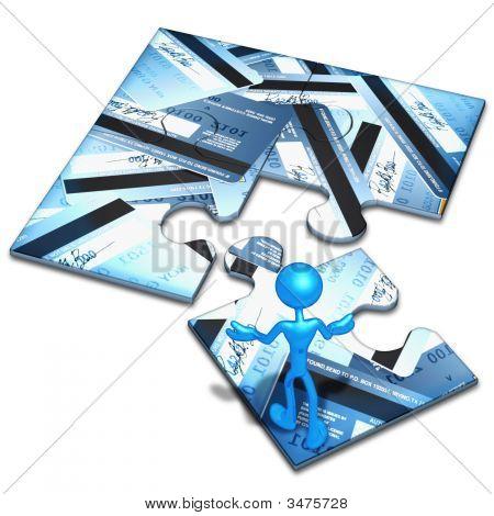 Credit Card Concept Puzzle