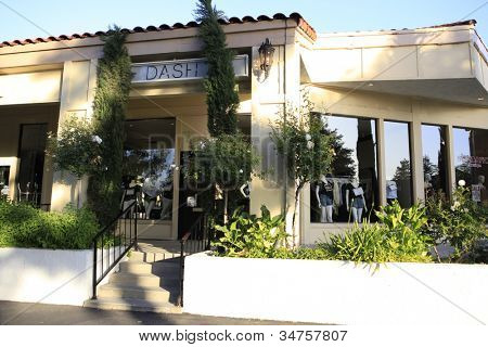 CALABASAS  - MAY 27: Dash store on May 27, 2012 in Calabasas, California. The soon to be closed boutique is co-owned by Kim Kardashian and her sisters, they plan to on relocating it to West Hollywood