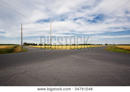 Rural Intersection