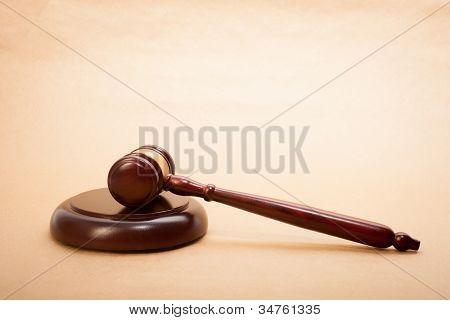 Richterhammer und Resonanzboden