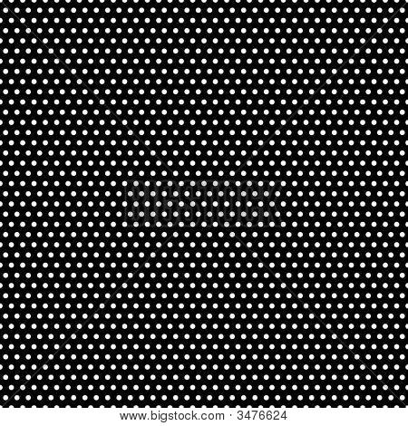 Black And White Polka Dots Pattern