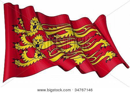 English Royal Banner