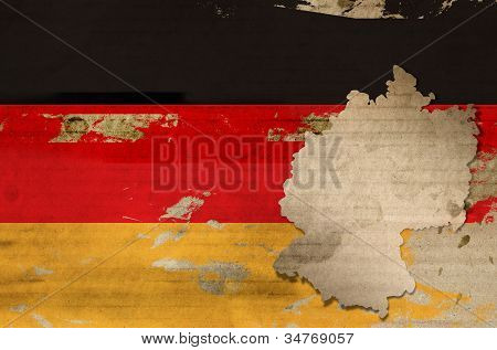 Old Germany flag