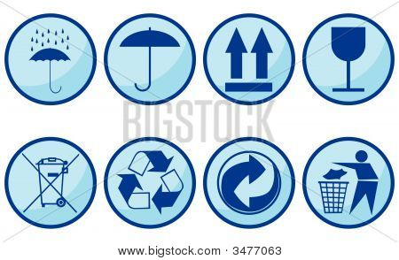 Symbols For Packing Subjects.