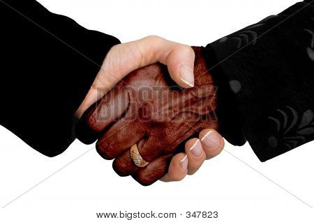 Business Deal - Multiracial
