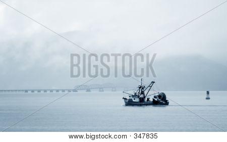Fishing Boat, Columbia River