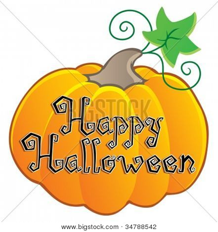 Happy Halloween topic image 2 - vector illustration.