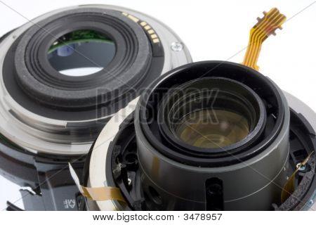 Broken Photography Lens