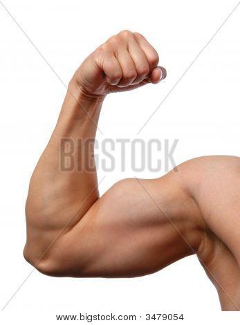Close-Up do braço do homem
