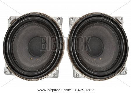 Big Speakers (isolated)