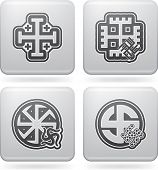pic of swastika  - Religion is the adherence to codified beliefs and rituals pictured here from left to right: 