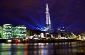 Shard Laser Light Show In London