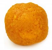 picture of laddu  - Laddu of Indian Subcontinent over white background - JPG