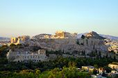 picture of socrates  - View of the Athens Acropolis from Philopappou hill - JPG