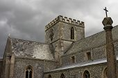 Church On Stormy Day poster