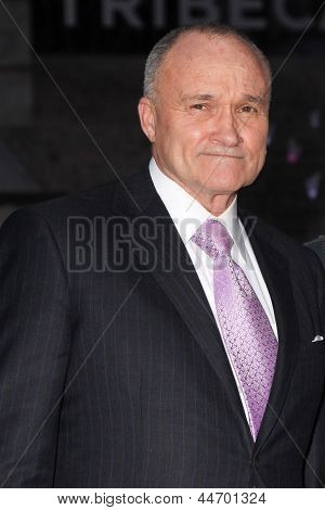 NEW YORK, NY - APRIL 16: New York City Police Commissioner Raymond Kelly attend Vanity Fair Party for the 2013 Tribeca Film Festival on April 16, 2013 in New York City.
