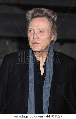 NEW YORK, NY - APRIL 16: Actor Christopher Walken attend Vanity Fair Party for the 2013 Tribeca Film Festival on April 16, 2013 in New York City.