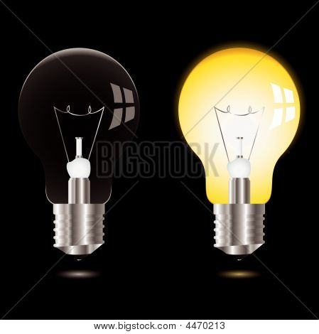 Light Bulb On Off
