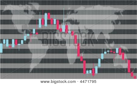 Business Graph, Candlestick