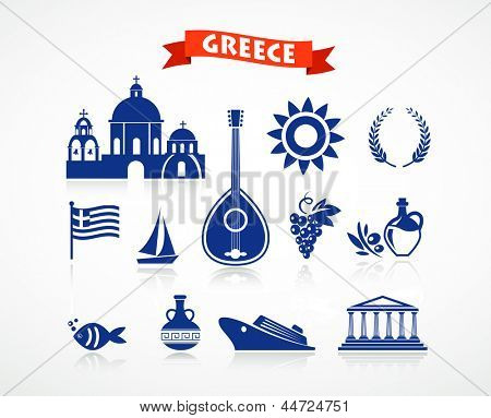 Griechenland - Icon-set