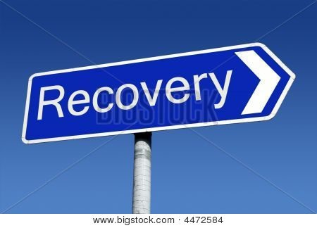 Signpost Along The Road To Recovery
