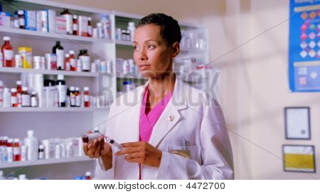 Female Pharmacist
