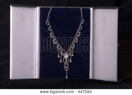 Diamond Necklace In A Case