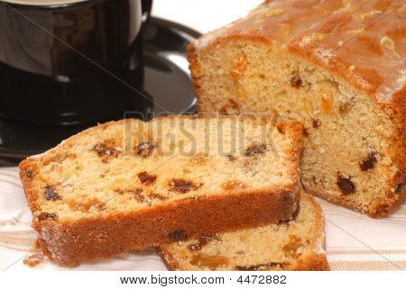 Sliced Cherry Raisin Bread