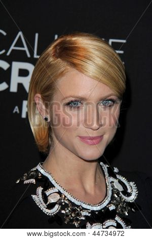 "LOS ANGELES - APR 16:  Brittany Snow arrives at the ""Call Me Crazy: A Five Film"" Premiere at the Pacific Design Center on April 16, 2013 in West Hollywood, CA"