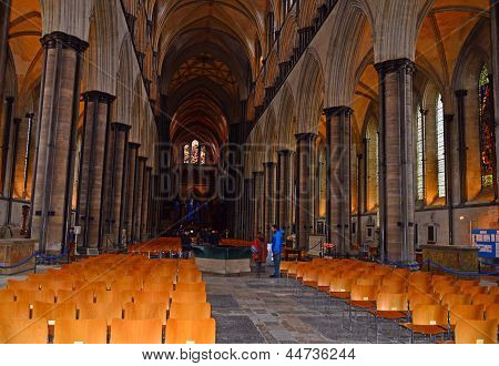 Nave, Salisbury Cathedral