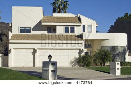 Modern Glass Brick Home