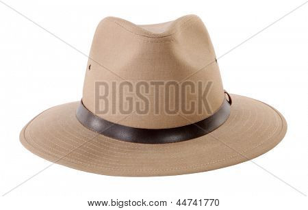 Adventurer's beige hat