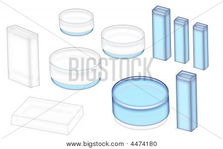 Cosmetics Jars And Boxes